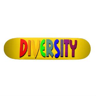 Diversity (Yellow Gold) Skateboard