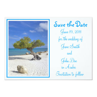 Divi-Aruba-Theme-Aruba-Wedding-Save-the-Date Card