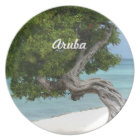 Divi Divi Tree in Aruba Plate