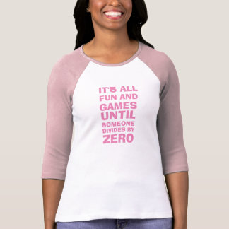 Divide by Zero Maths Tshirt