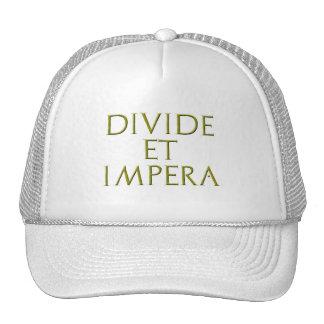 Divide Et Impera Hat