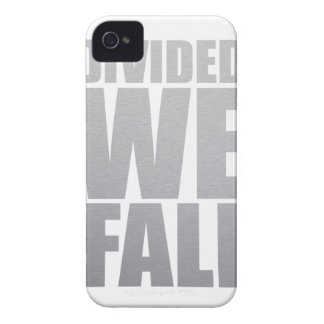 DIVIDED WE FALL Case-Mate iPhone 4 CASES