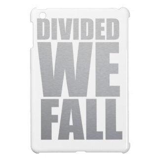 DIVIDED WE FALL iPad MINI COVERS