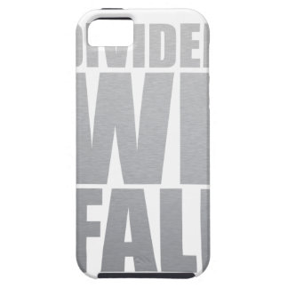 DIVIDED WE FALL iPhone 5 CASE