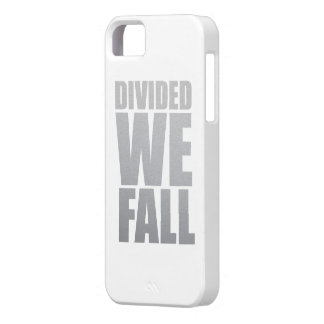 DIVIDED WE FALL iPhone 5 CASES