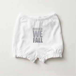 DIVIDED WE FALL NAPPY COVER