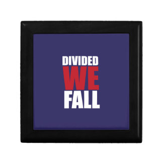 Divided We Fall Patriotism Quotes Gift Box