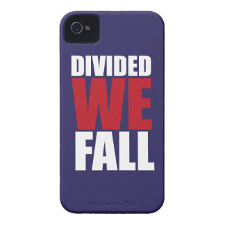 Divided We Fall Patriotism Quotes iPhone 4 Covers