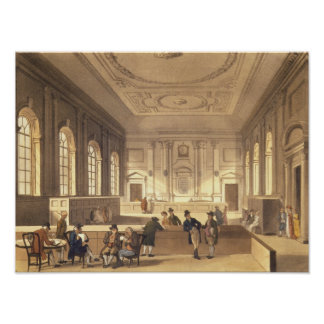 Dividend Hall at South Sea House Poster