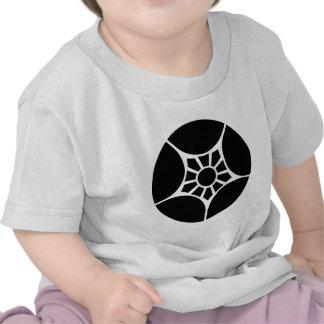Dividing plum bowl tee shirt
