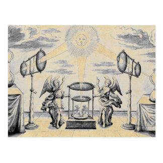 Divine Arcana of Alchemy Postcard