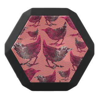 Divine Birds Black Bluetooth Speaker