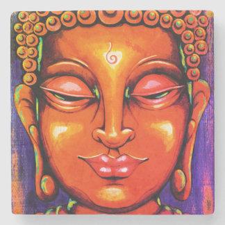 DIVINE Buddha Tile Stone Beverage Coaster