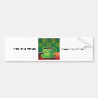 Divine Espresso! by Deb Magelssen Studip Car Bumper Sticker