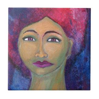 Divine Feminine Lola Small Square Tile