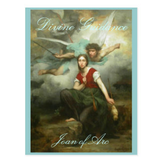 Divine Guidance postcard