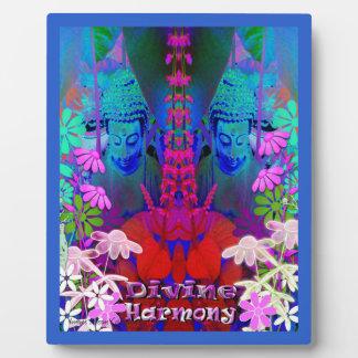 Divine Harmony Buddha Picture Plaque