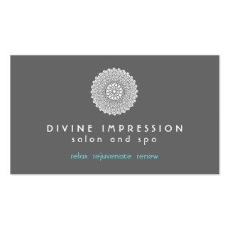 Divine Impression Blue 2 Pack Of Standard Business Cards