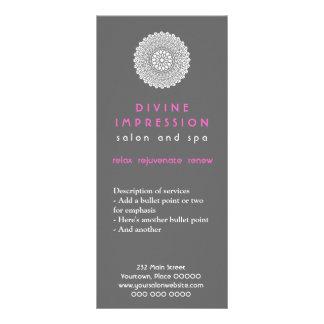 Divine Impression Pink Promotional Customised Rack Card