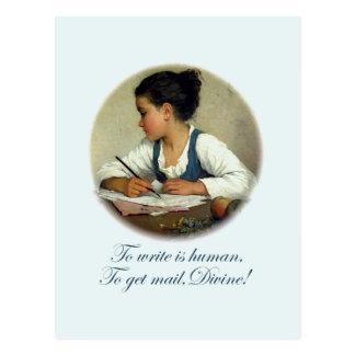 Divine Mail Postcard