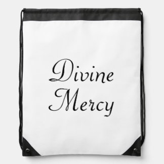 Divine Mercy Drawstring Bag