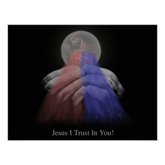 Divine MErcy Eucharist Poster