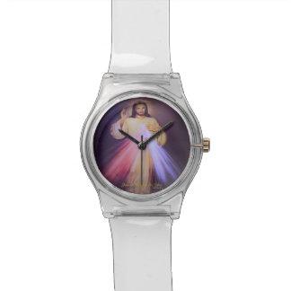 Divine Mercy Gold Watch