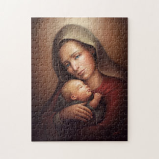 Divine Motherhood Jigsaw Puzzle