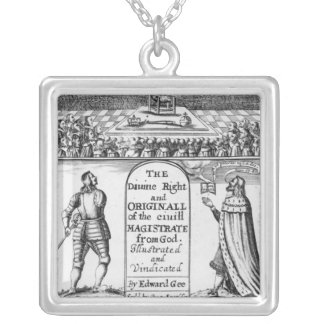 Divine Right Original Civil Magistrate from Silver Plated Necklace