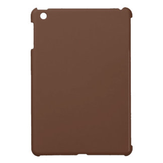 Divinely Confectionary Brown Color iPad Mini Cases