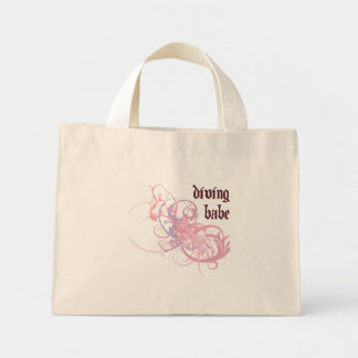 Diving Babe Canvas Bag