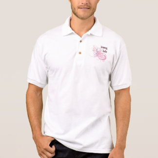 Diving Babe Polo T-shirts