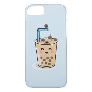 Diving Boba Pearl Tea Phone Case