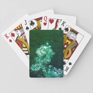 Diving Bubbles Playing Cards