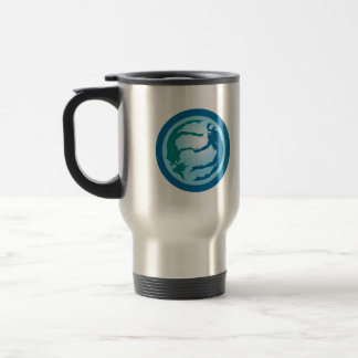 Diving Duo in the Depths of the Deep Blue Sea: Mug