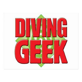Diving Geek v2 Postcards