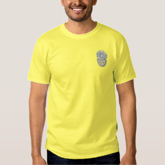 Diving Helmet Embroidered T-Shirt