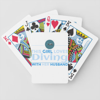 diving_husband bicycle playing cards
