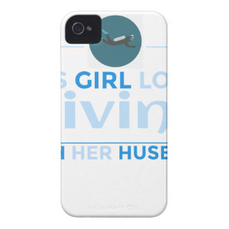 diving_husband iPhone 4 cases