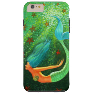 Diving Mermaid fantasy art iPhone 6 Plus case
