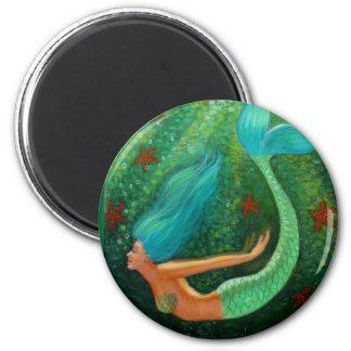 Diving Mermaid Magnet