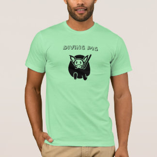 Diving Pig T-shirt