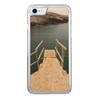 Diving place carved iPhone 7 case