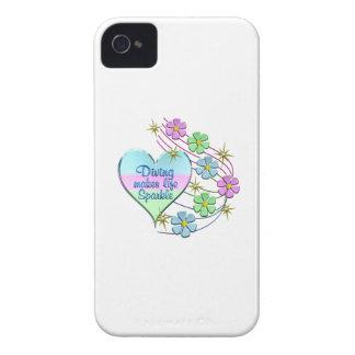 Diving Sparkles iPhone 4 Case-Mate Case