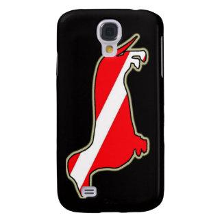 Diving Wienerdog Galaxy S4 Case