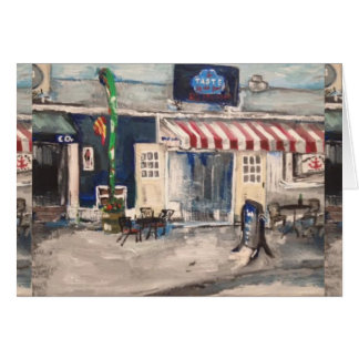 Division Street, Kelley's Island Greeting Card