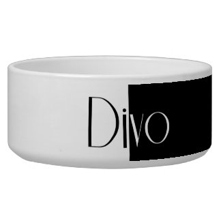 Divo doggie bowl