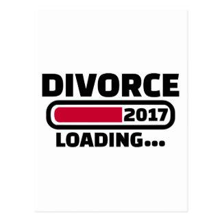 Divorce 2017 loading postcard