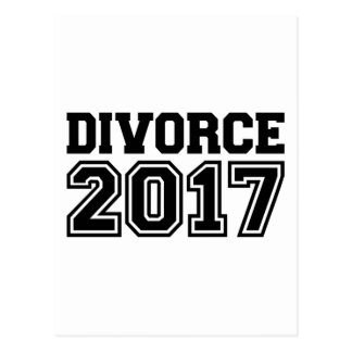 Divorce 2017 postcard