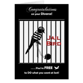 Divorce Congratulations Card